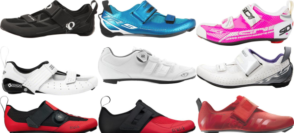 buy breathable triathlon cycling shoes for men and women