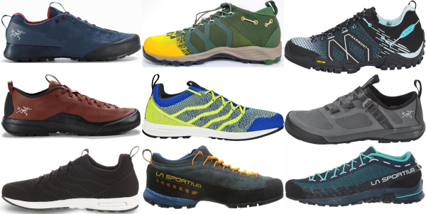 buy breathable vibram sole approach shoes for men and women
