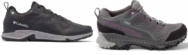 buy breathable waterproof hiking shoes for men and women