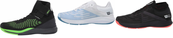 buy breathable wilson tennis shoes for men and women