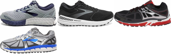 buy brooks beast running shoes for men and women
