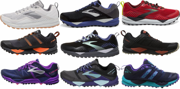 buy brooks cascadia running shoes for men and women