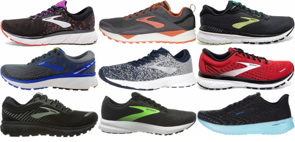 buy brooks cushioned running shoes for men and women