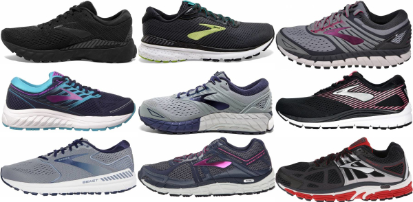 buy brooks flat feet running shoes for men and women