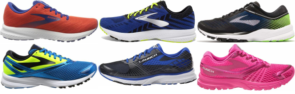 buy brooks launch running shoes for men and women