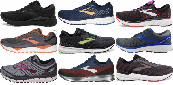 buy brooks long distance running shoes for men and women
