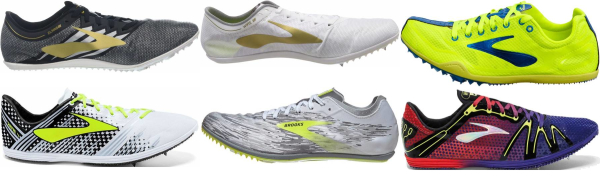 buy brooks long distance track & field shoes for men and women