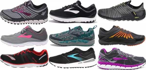 buy brooks low drop running shoes for men and women