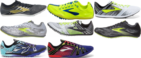 buy brooks mid distance track & field shoes for men and women