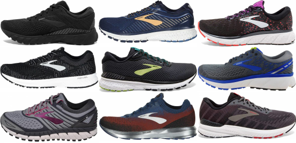 buy brooks road running shoes for men and women