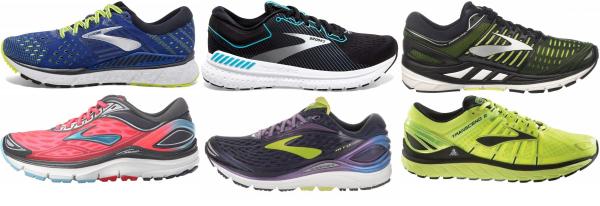 buy brooks transcend running shoes for men and women