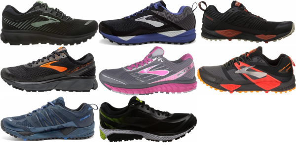 buy brooks waterproof running shoes for men and women