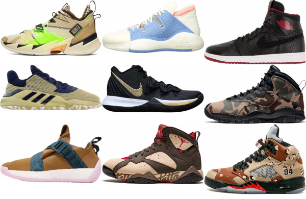 buy brown basketball shoes for men and women