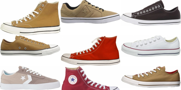 buy brown converse sneakers for men and women