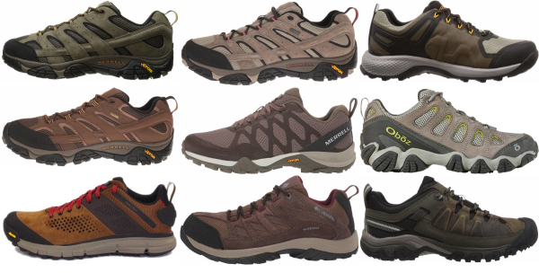 buy brown day hiking shoes for men and women
