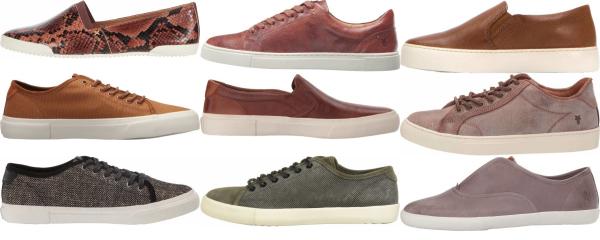 buy brown frye sneakers for men and women