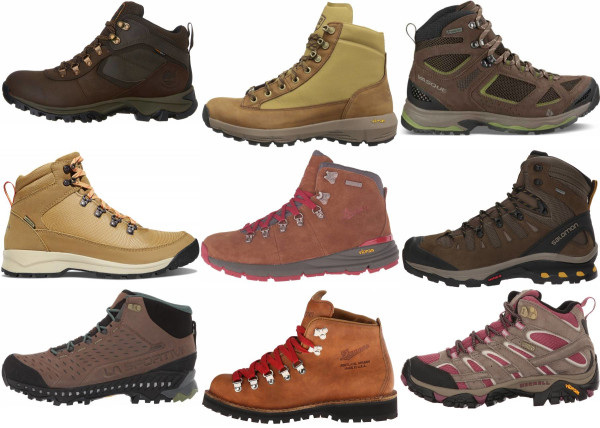 buy brown hiking boots for men and women