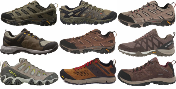 buy brown hiking shoes for men and women