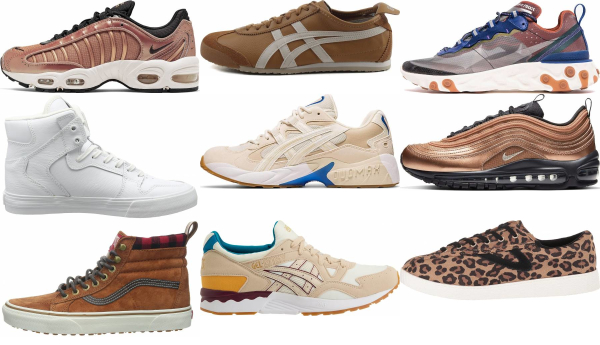 buy brown sneakers for men and women