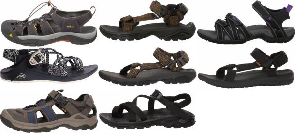 buy brown vegan hiking sandals for men and women