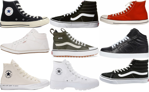 buy canvas high top sneakers for men and women