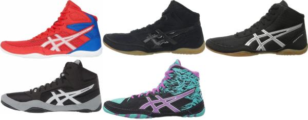 buy cheap asics wrestling shoes for men and women