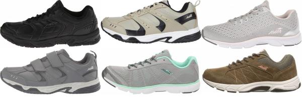 buy cheap avia walking shoes for men and women