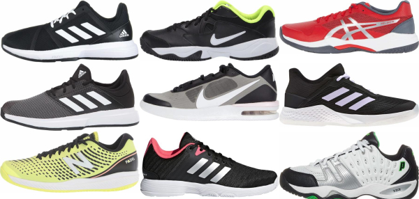 buy cheap black tennis shoes for men and women
