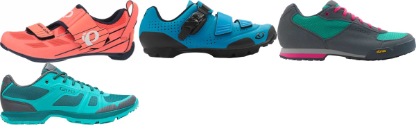 buy cheap blue cycling shoes for men and women