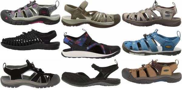 buy cheap closed toe hiking sandals for men and women
