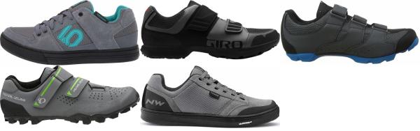 buy cheap grey cycling shoes for men and women