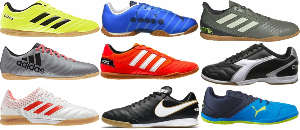 buy cheap indoor soccer cleats for men and women