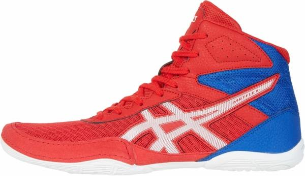 buy cheap red wrestling shoes for men and women