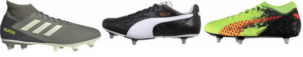buy cheap soft ground soccer cleats for men and women