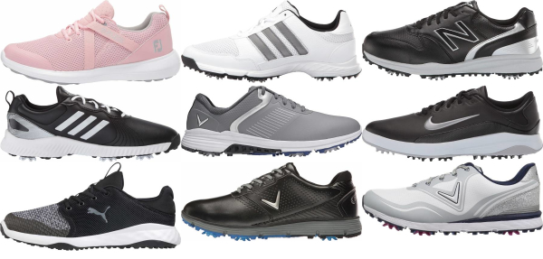 buy cheap spiked golf shoes for men and women