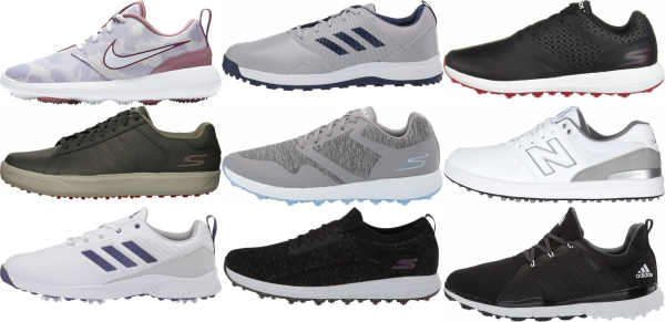 buy cheap spikeless golf shoes for men and women