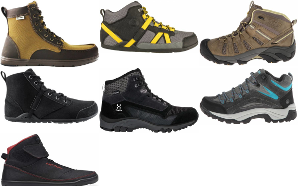 buy cheap water repellent hiking boots for men and women