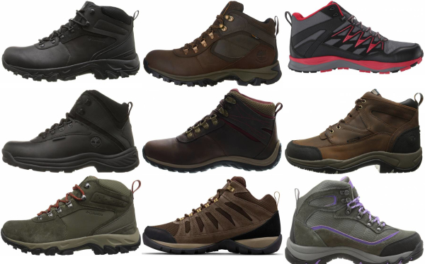 buy cheap waterproof hiking boots for men and women