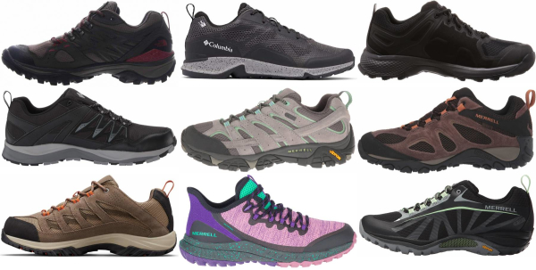 buy cheap waterproof hiking shoes for men and women