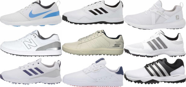 buy cheap white golf shoes for men and women