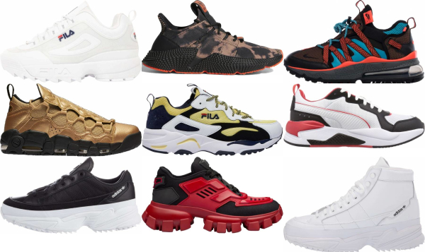 buy chunky sneakers for men and women