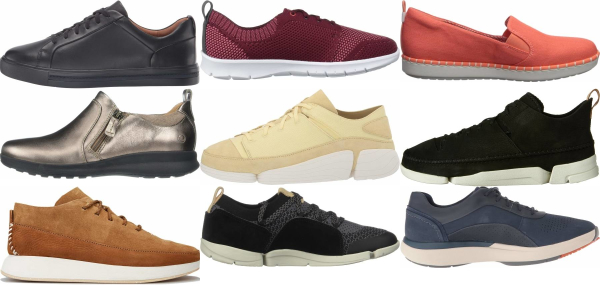 buy clarks sneakers for men and women
