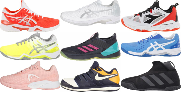 buy clay court tennis shoes for men and women