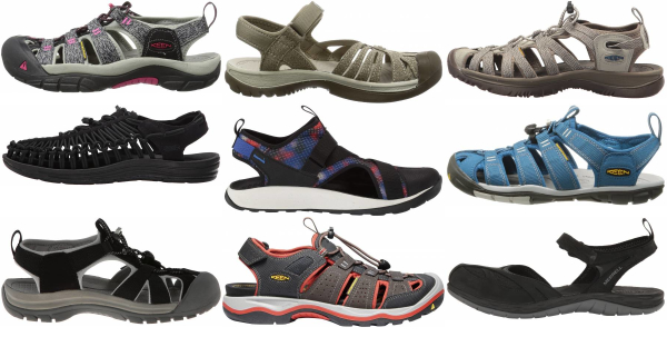 buy closed toe hiking sandals for men and women