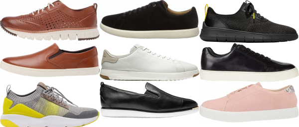 buy cole haan leather sneakers for men and women
