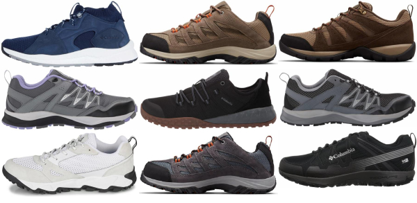 buy columbia day hiking shoes for men and women
