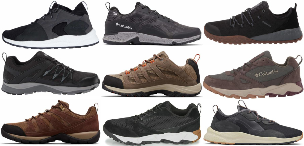 buy columbia hiking shoes for men and women