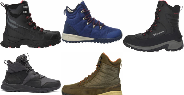 buy columbia insulated hiking boots for men and women