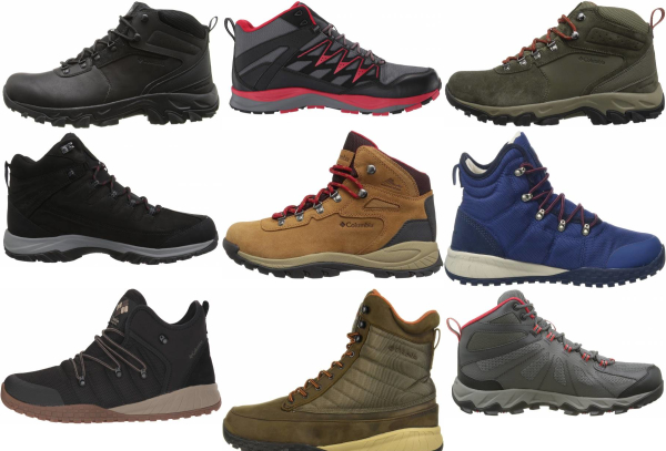 buy columbia lightweight hiking boots for men and women