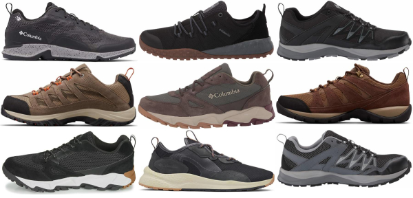 buy columbia low cut hiking shoes for men and women